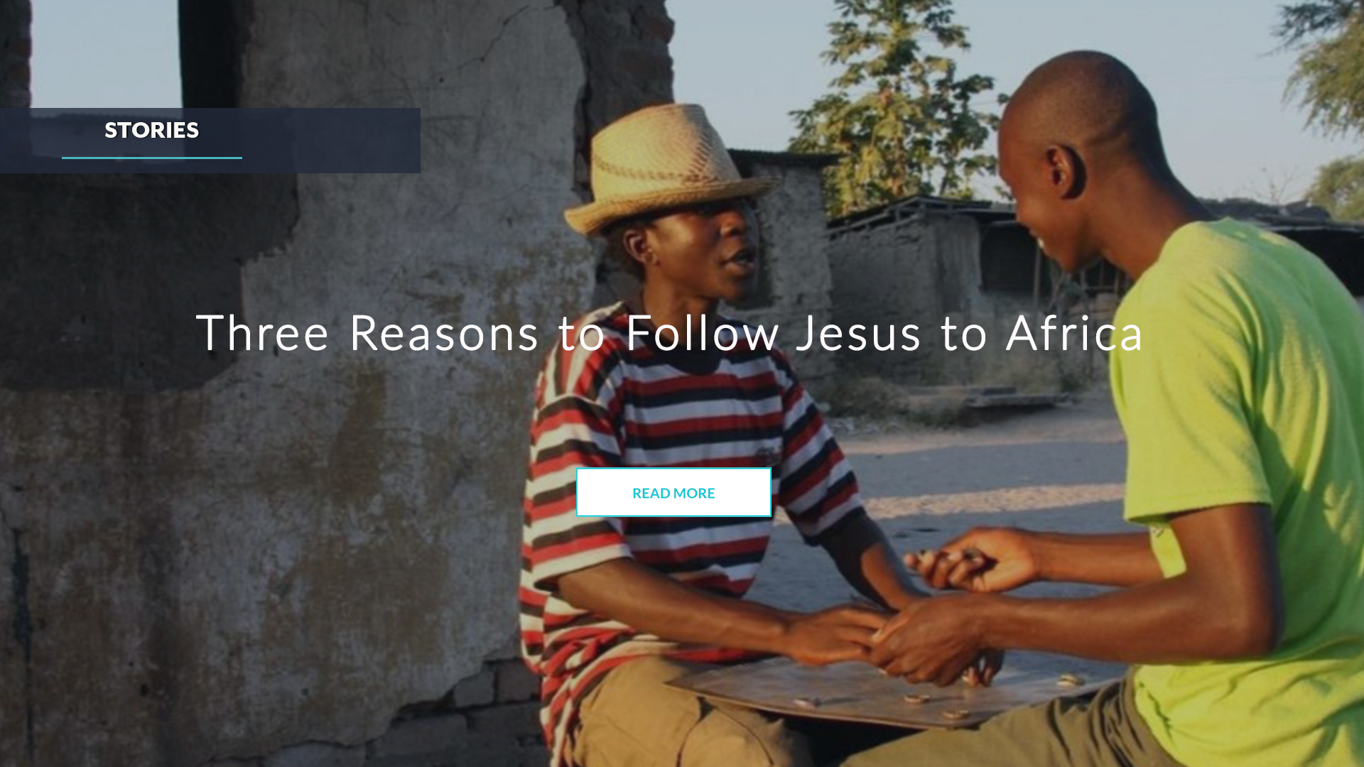 Three Reasons to Follow Jesus to Africa