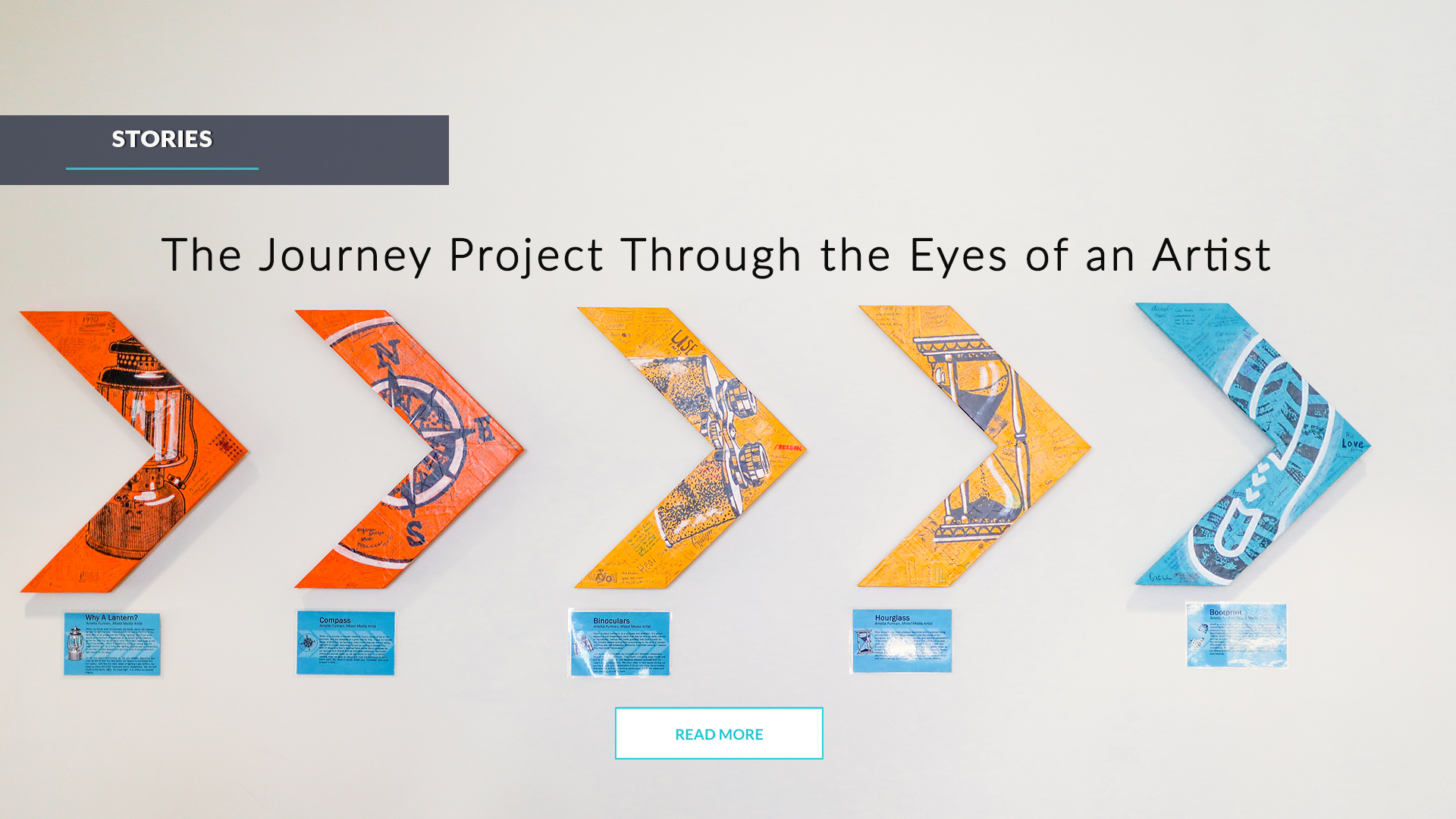 The Journey Project Through the Eyes of an Artist