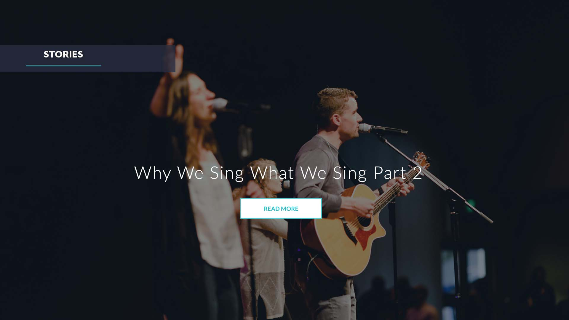 Why We Sing What We Sing Part 2