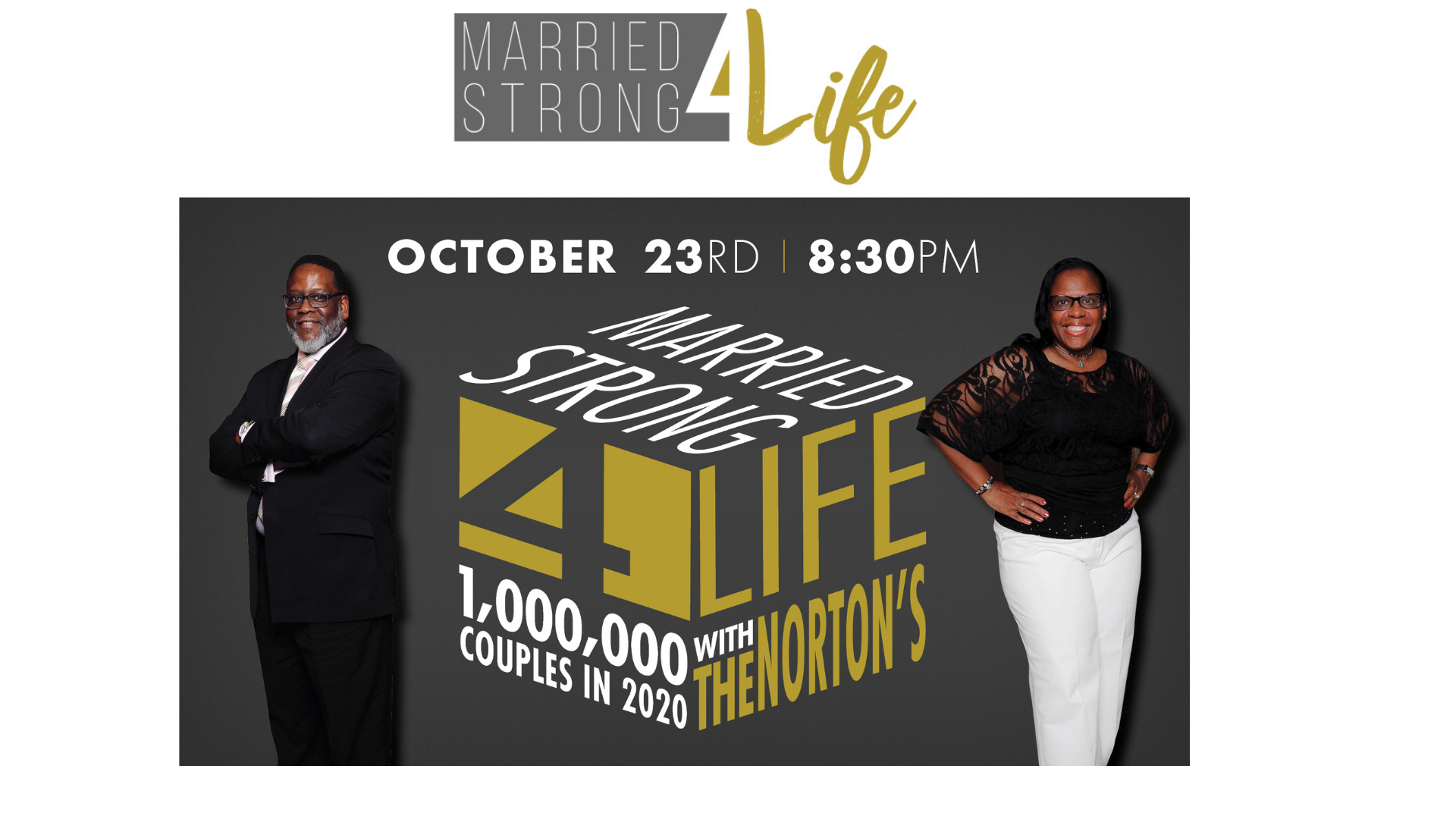 Marriage Talk Forum, Friday October 23rd @8:30 pm