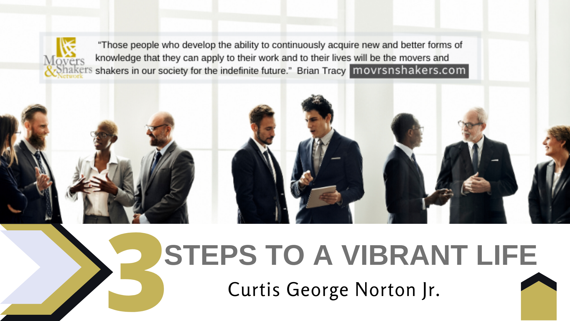 3 steps to a vibrant life