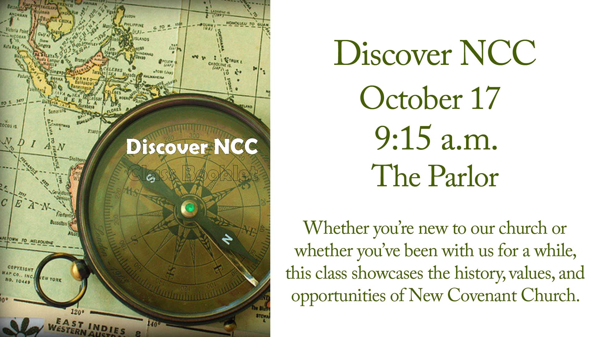 Discover NCC