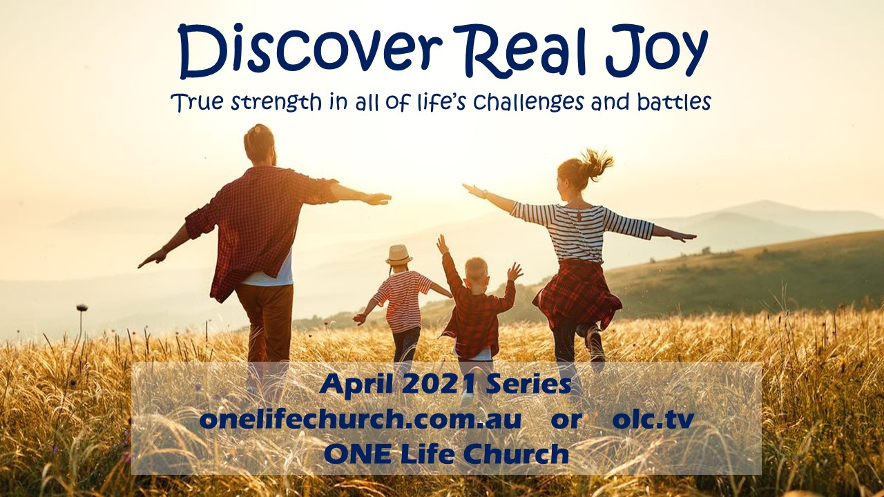 Discover Real Joy April 2021 Series
