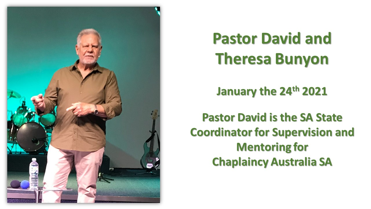 Pastor David and Theresa Bunyon - January 24 2021