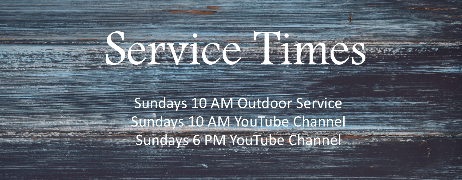 Updated Service Times