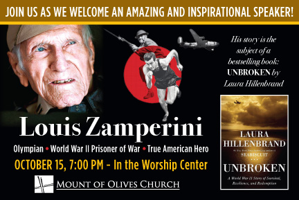 the dignity of louis silvie zamperini in unbroken a book by laura hillenbrand In boyhood, louis zamperini was an incorrigible delinquent  [laura]  hillenbrand's unforgettable book    deserve[s] pride of place alongside the best  works of.