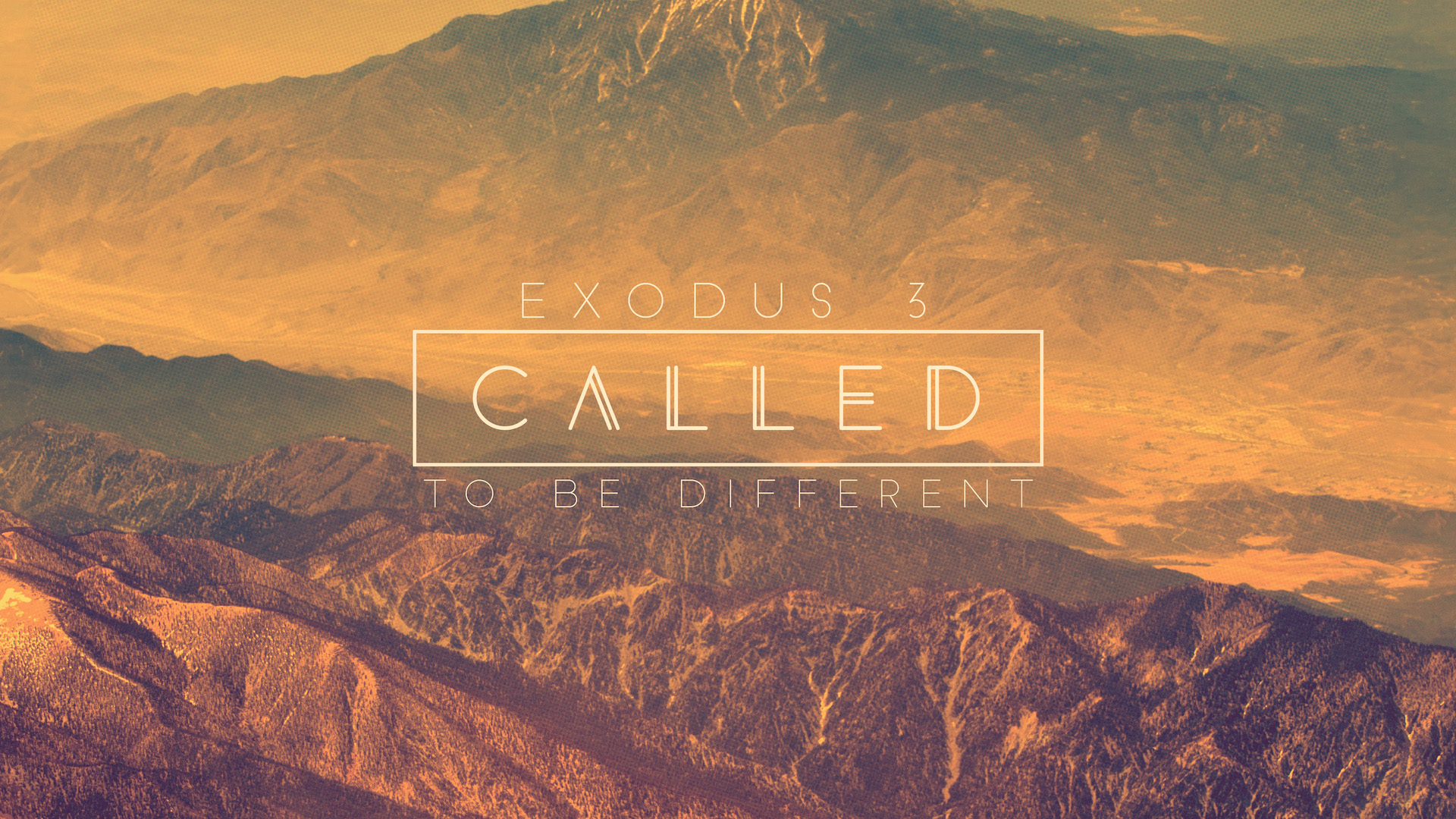 Called To Be Different
