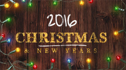 2016 Christmas & New Years