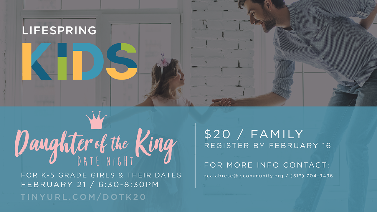 Daughter of the King Date Night