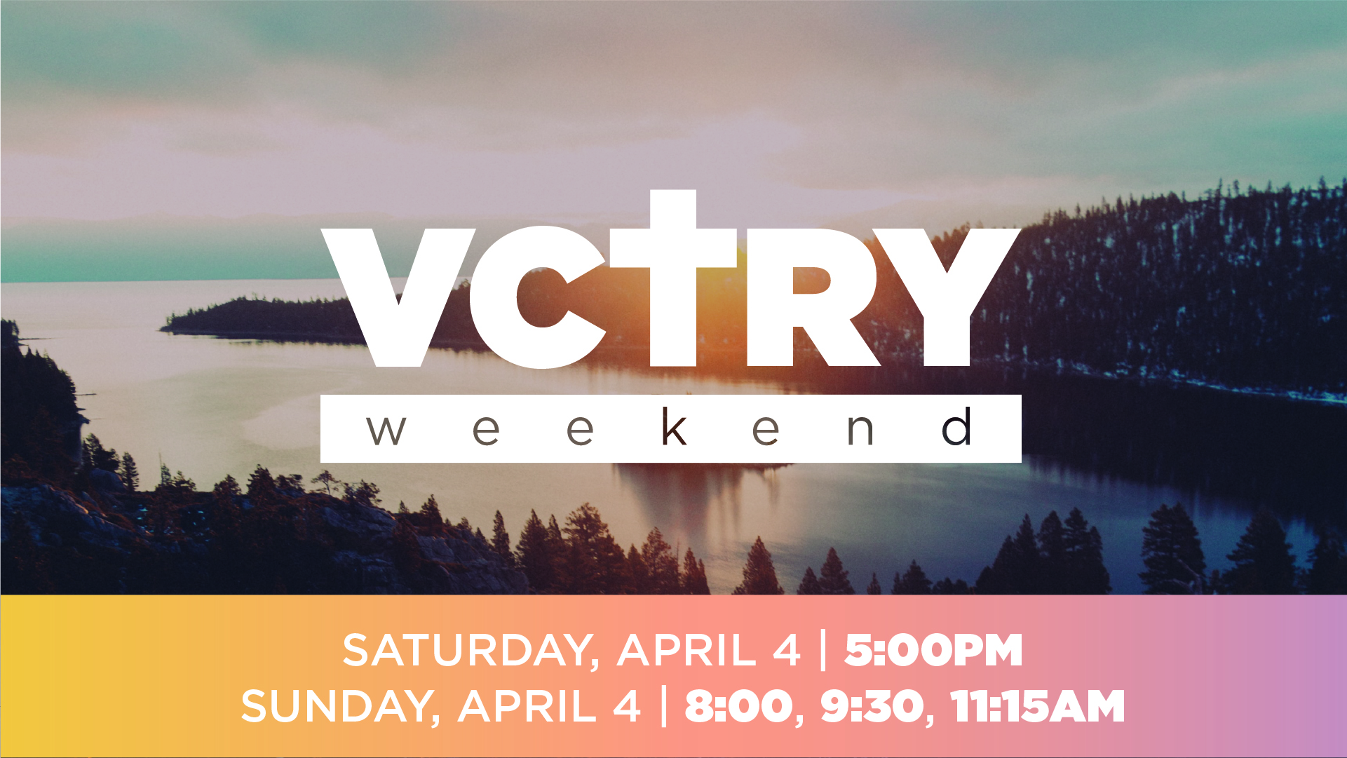 Vctry Weekend