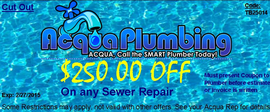 Sewer Repair discount