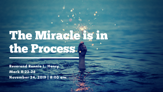 The Miracle is in the Process
