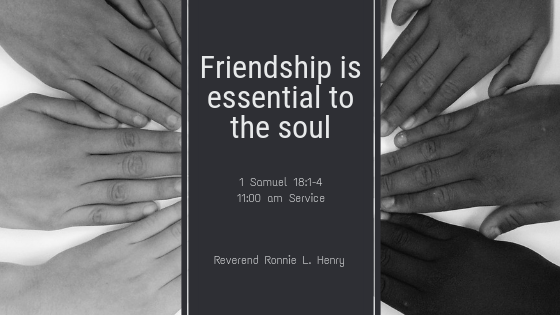 Friendship is Essential to the Soul!