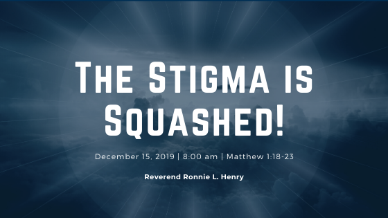 The Stigma is Squashed!
