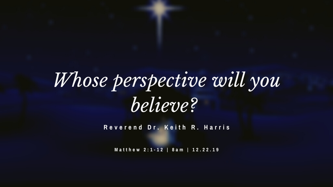 Whose perspective (about Christmas) will you believe?