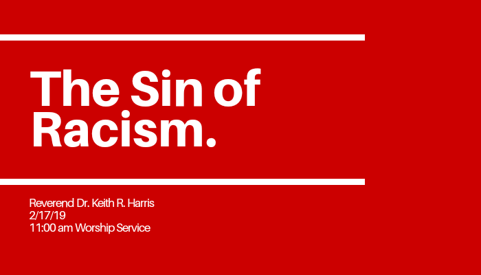 The Sin of Racism