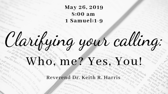 Clarifying your calling: Who, me? Yes, you!
