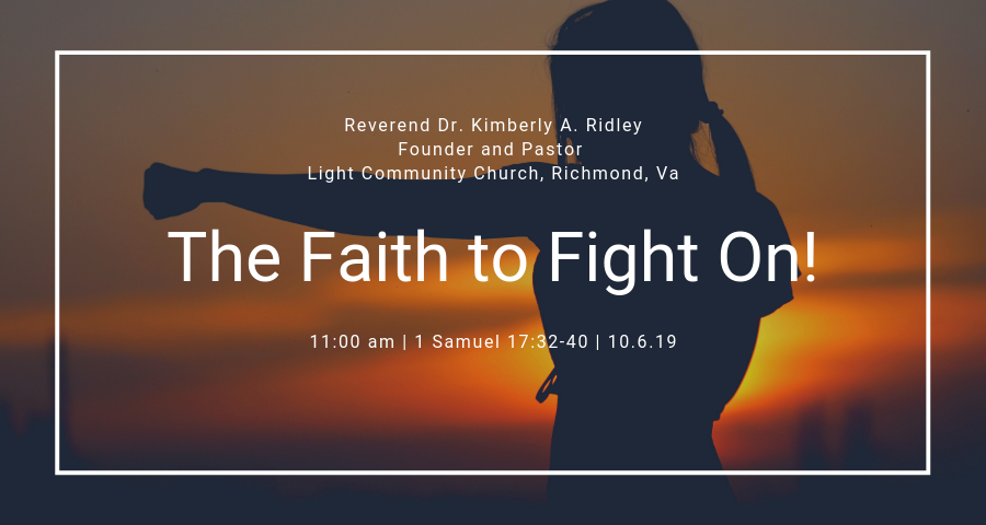 The Faith to Fight on!