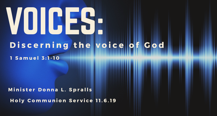 Voices: Discerning the voice of God