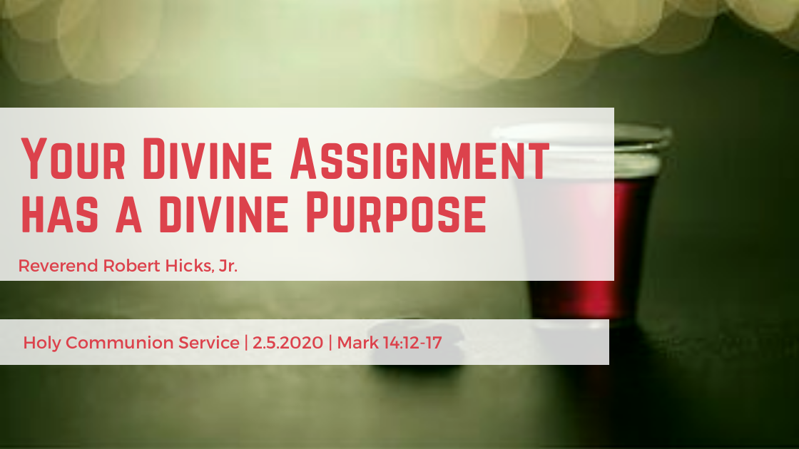 Your Divine Assignment has a divine Purpose!