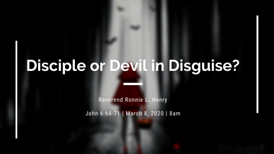Disciple or Devil in Disguise?