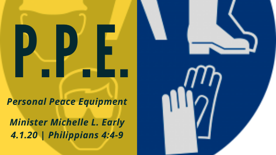 PPE: Personal Peace Equipment