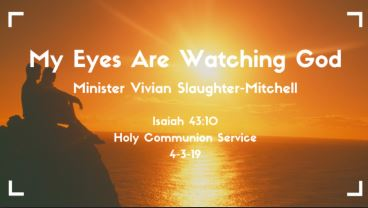 My Eyes Are Watching God!