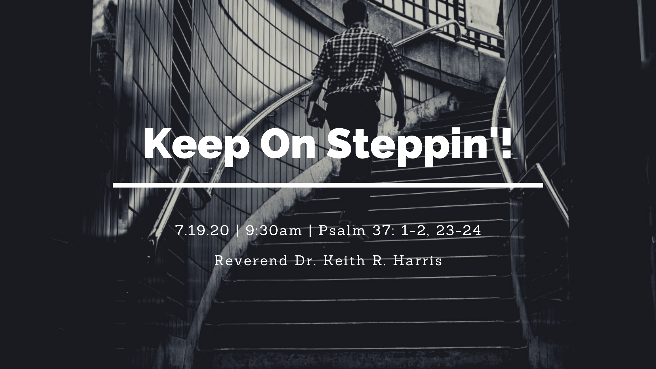 Keep on Steppin
