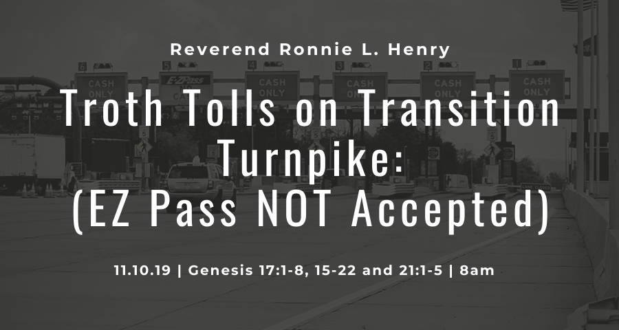 Troth Tolls on Transition Turnpike (EZPass not Accepted)