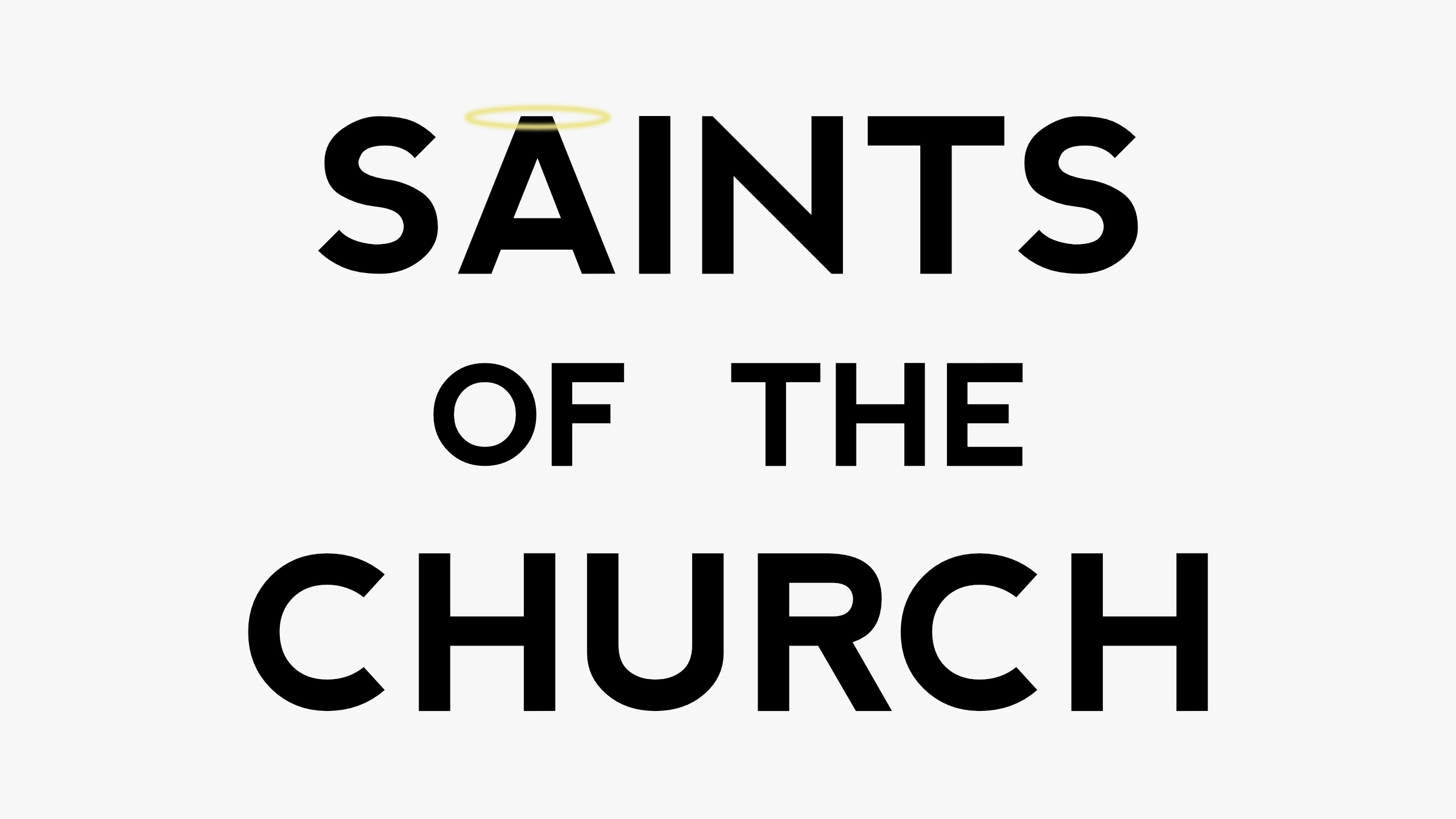 Saints of the Church