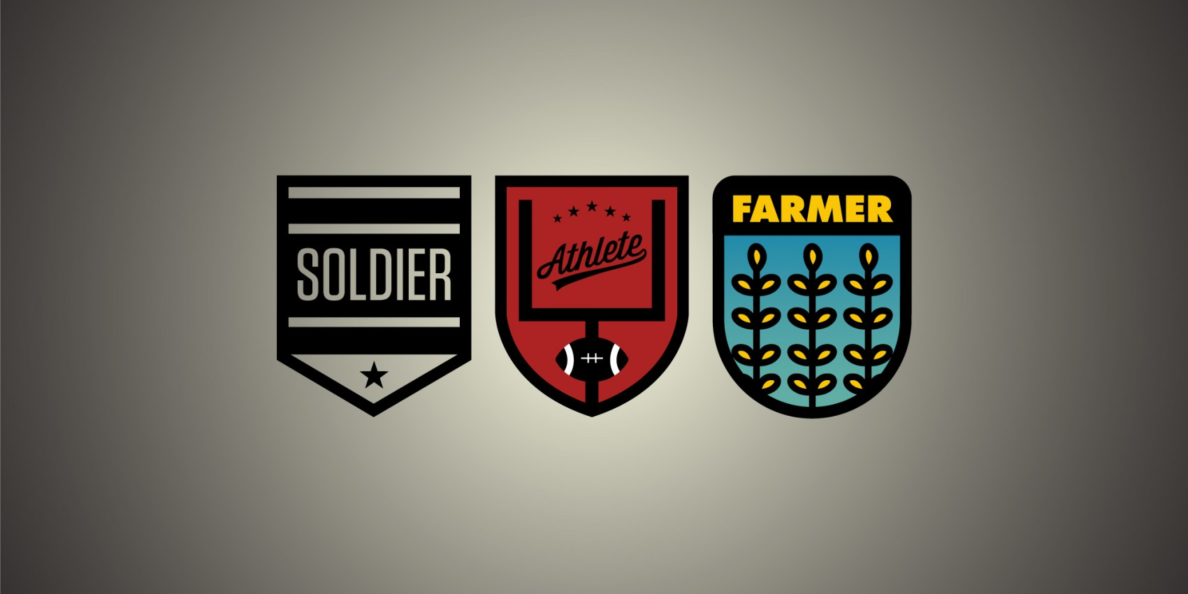 Soldier, Athlete, Farmer