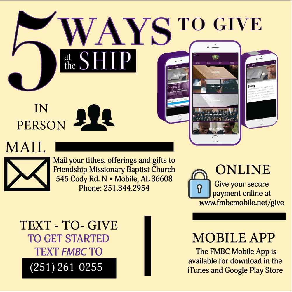 5 Ways to Give at the Ship