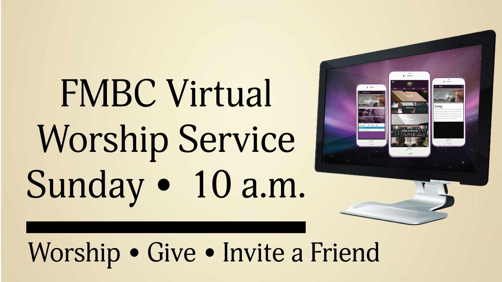 FMBC Virtual Worship