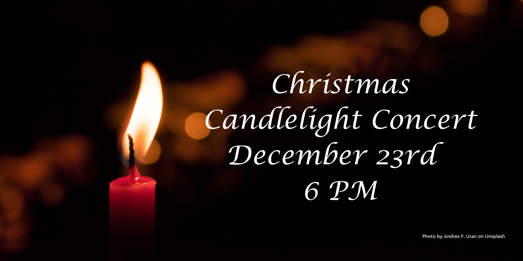 2018 Candlelight Concert