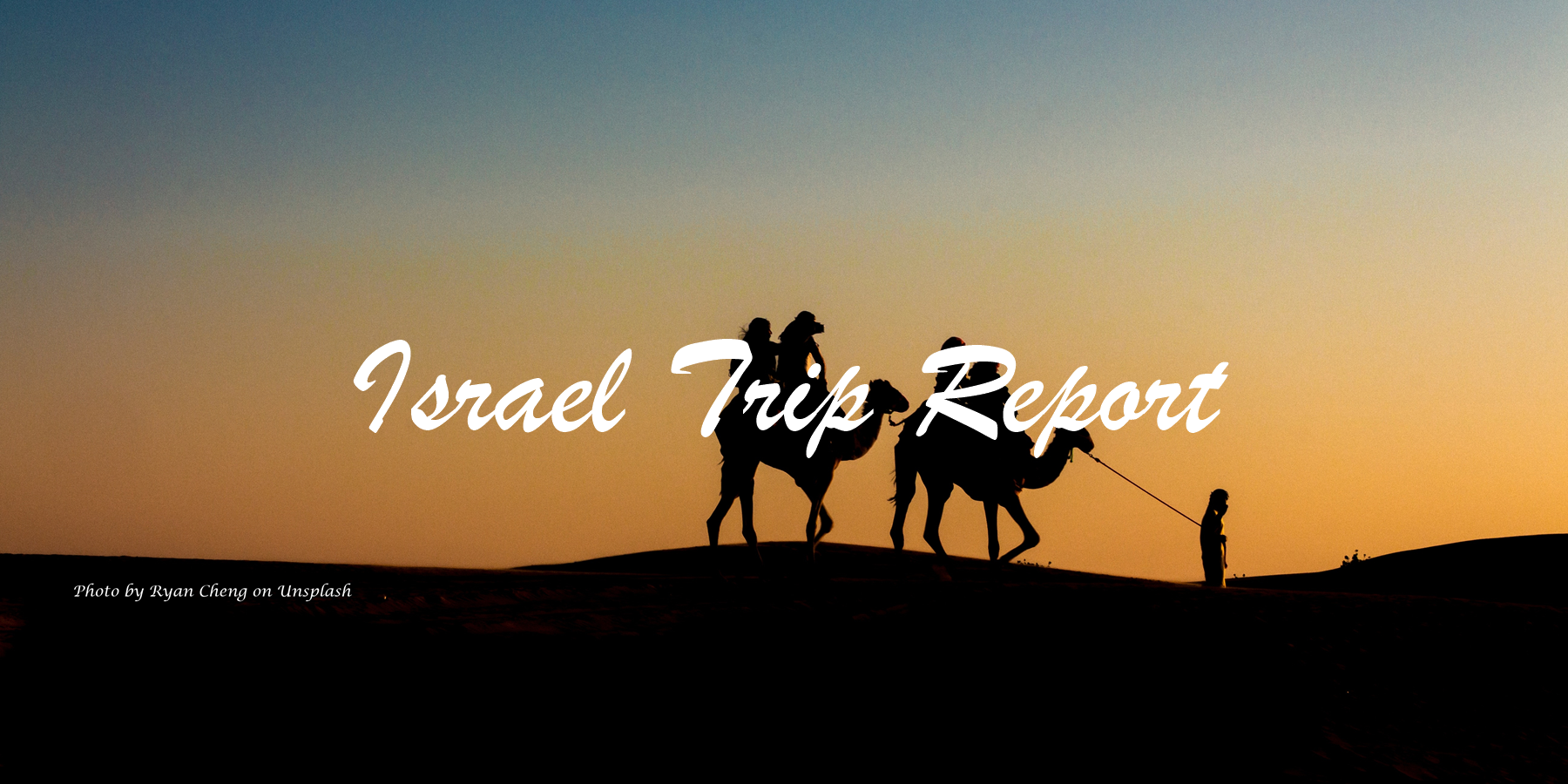 Israel Trip Report - Second Service