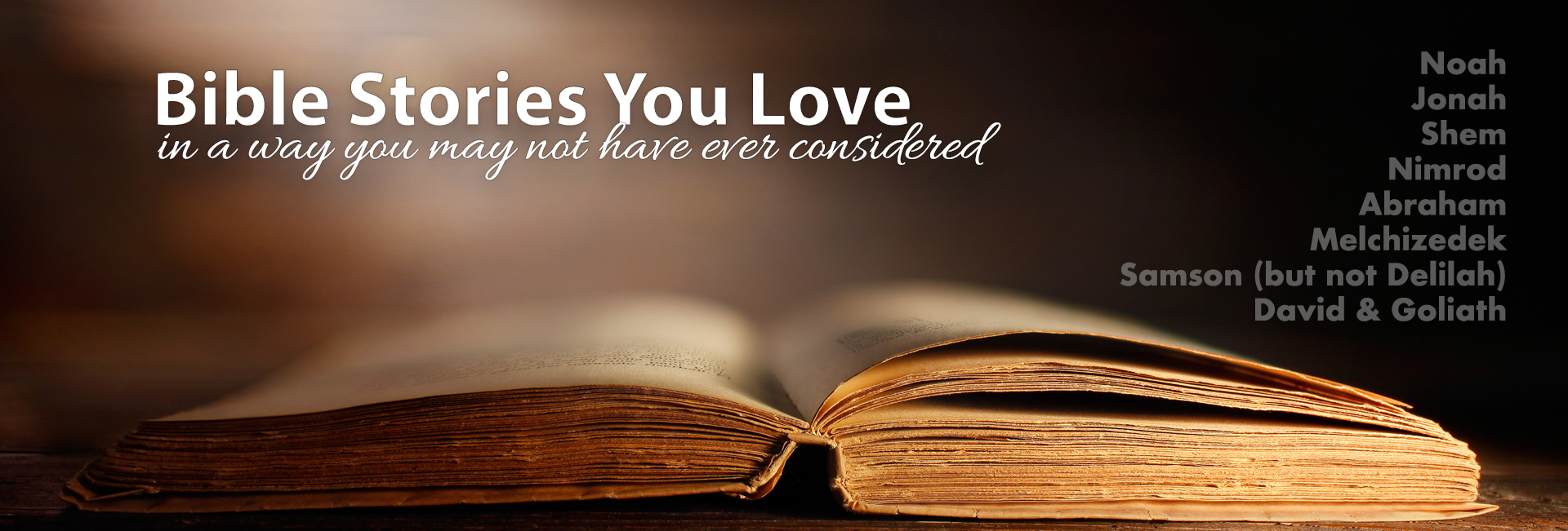 Bible Stories You Love