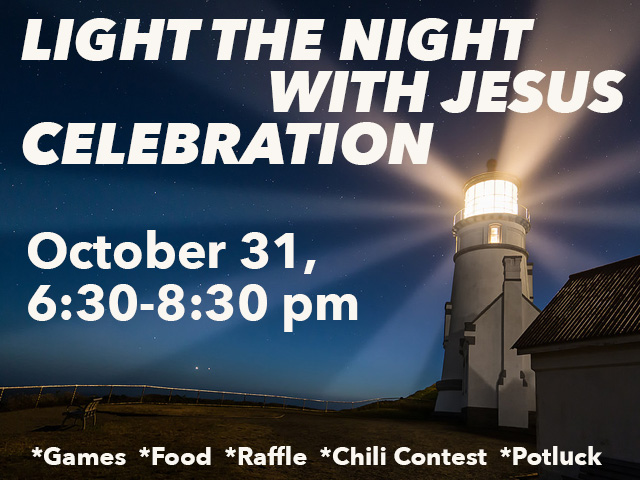 Light The Night With Jesus