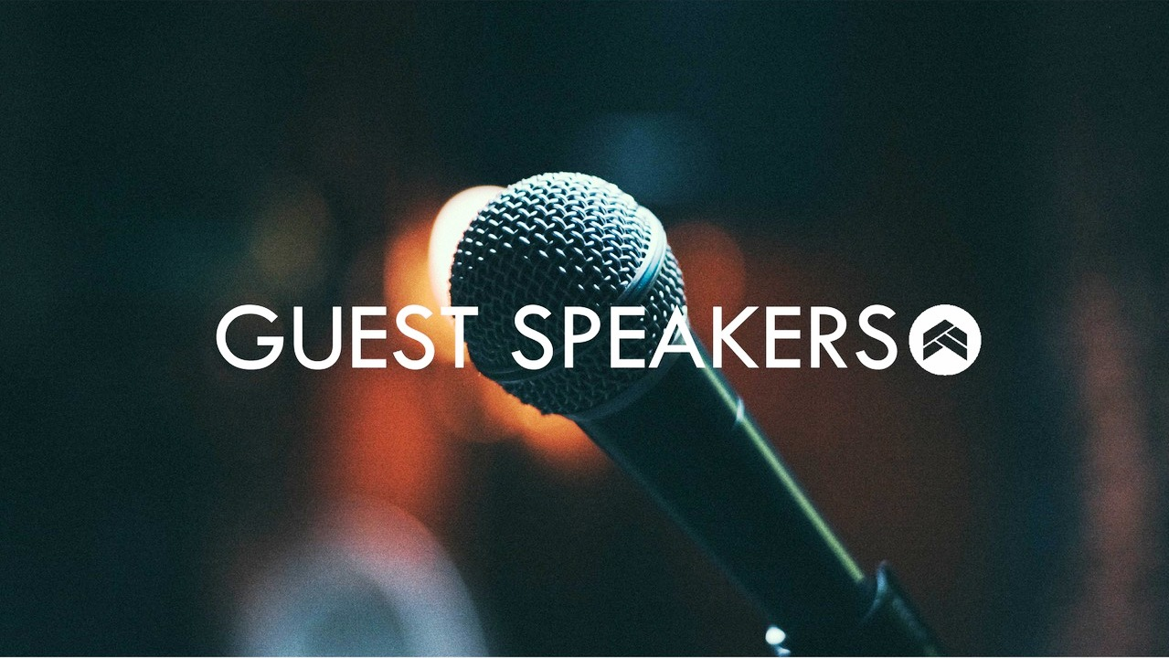 Guest Speakers Image