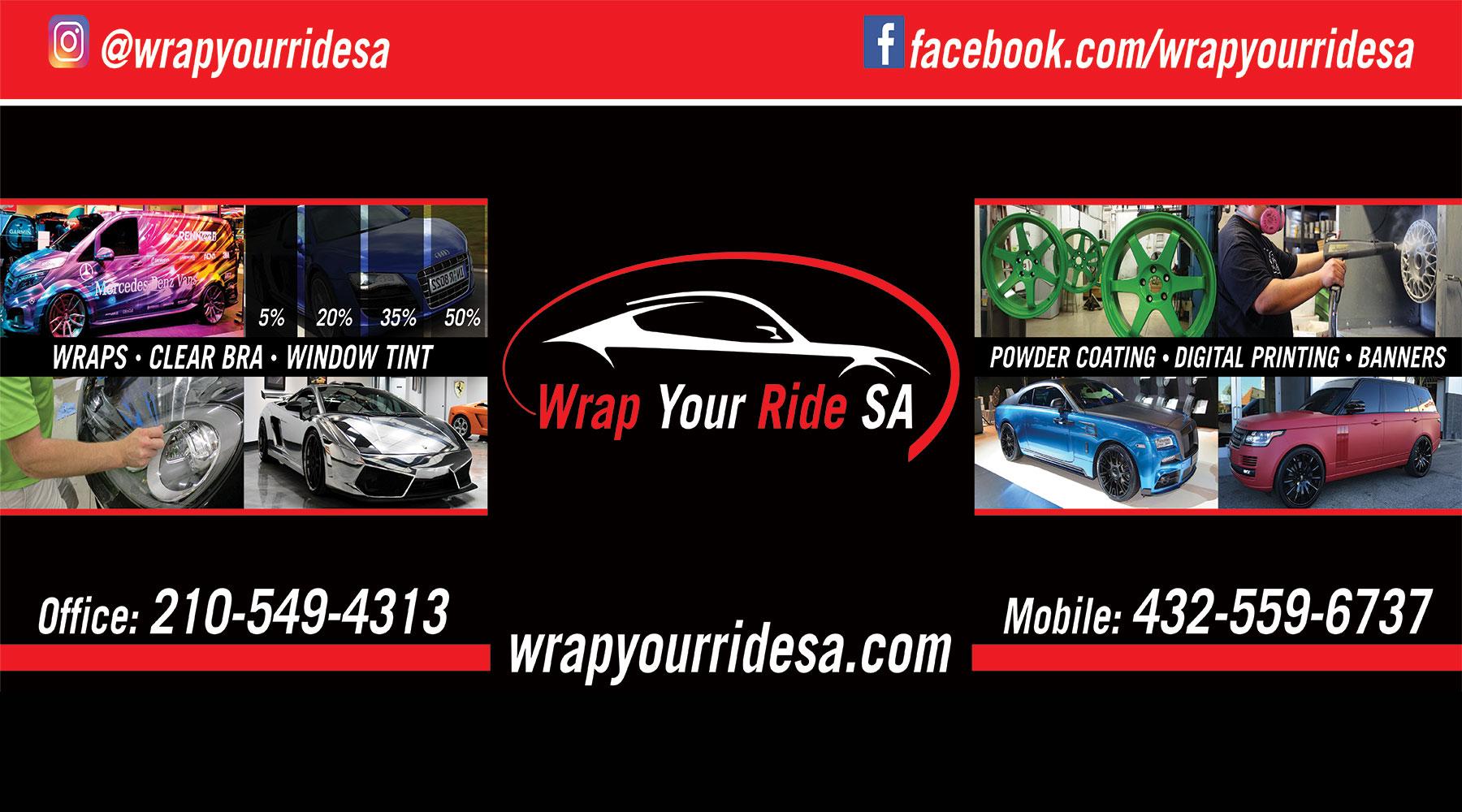 Wrap Your Ride Sa Vehicle Wraps San Antonio Commercial