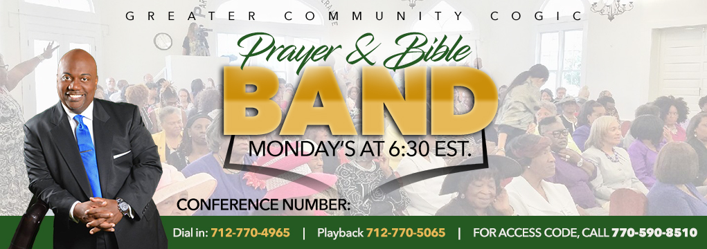 New Prayer and Bible Band