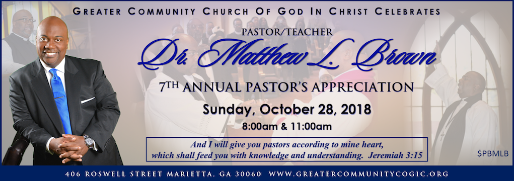 7th Pastoral Anniversary Month