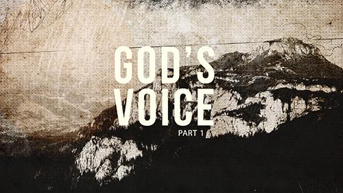 Gods Voice Part 1