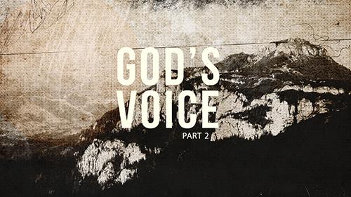 Gods Voice Part 2