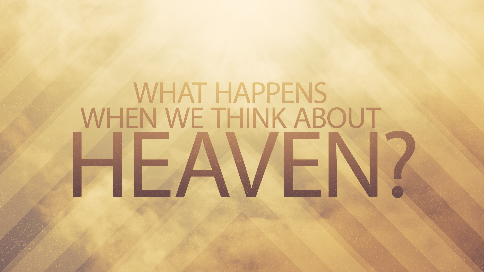 What Happens When We Think About Heaven