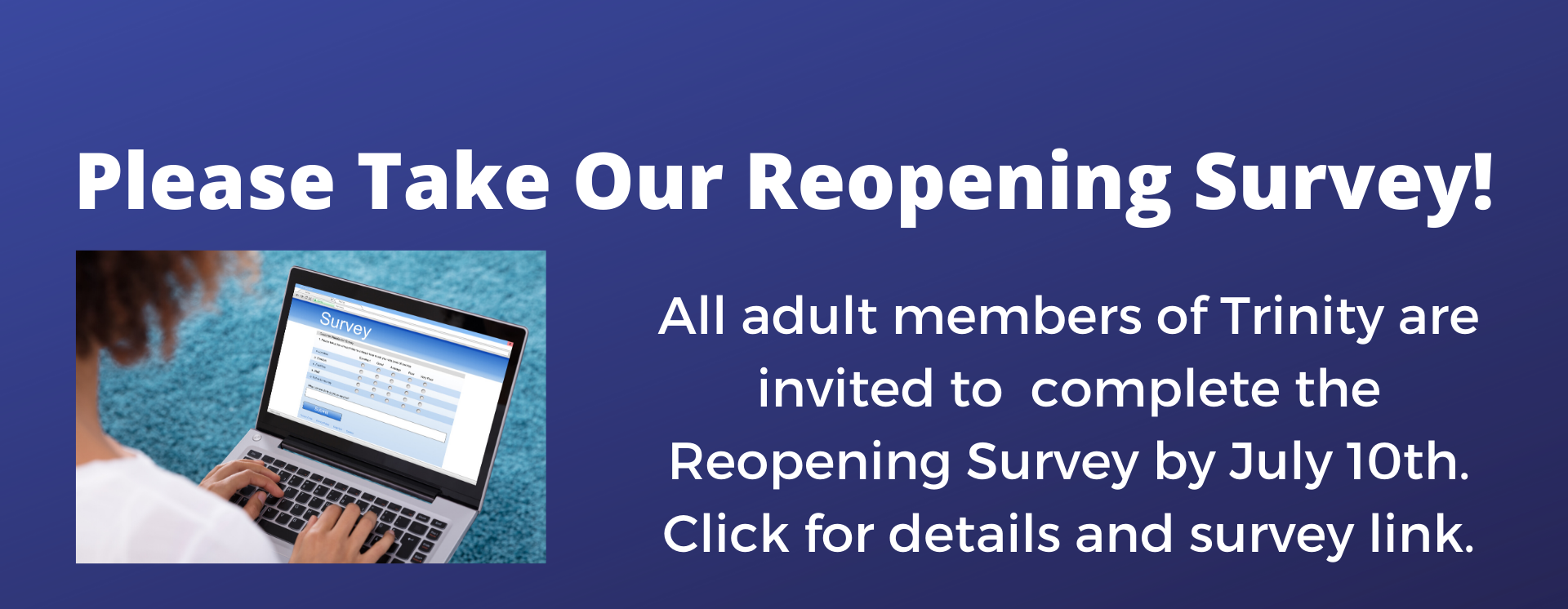 reopening survey