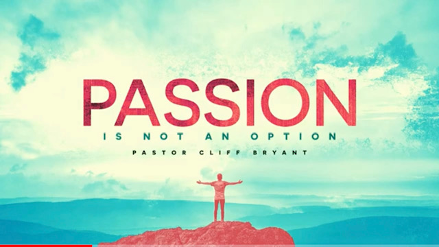 Passion Is Not An Option