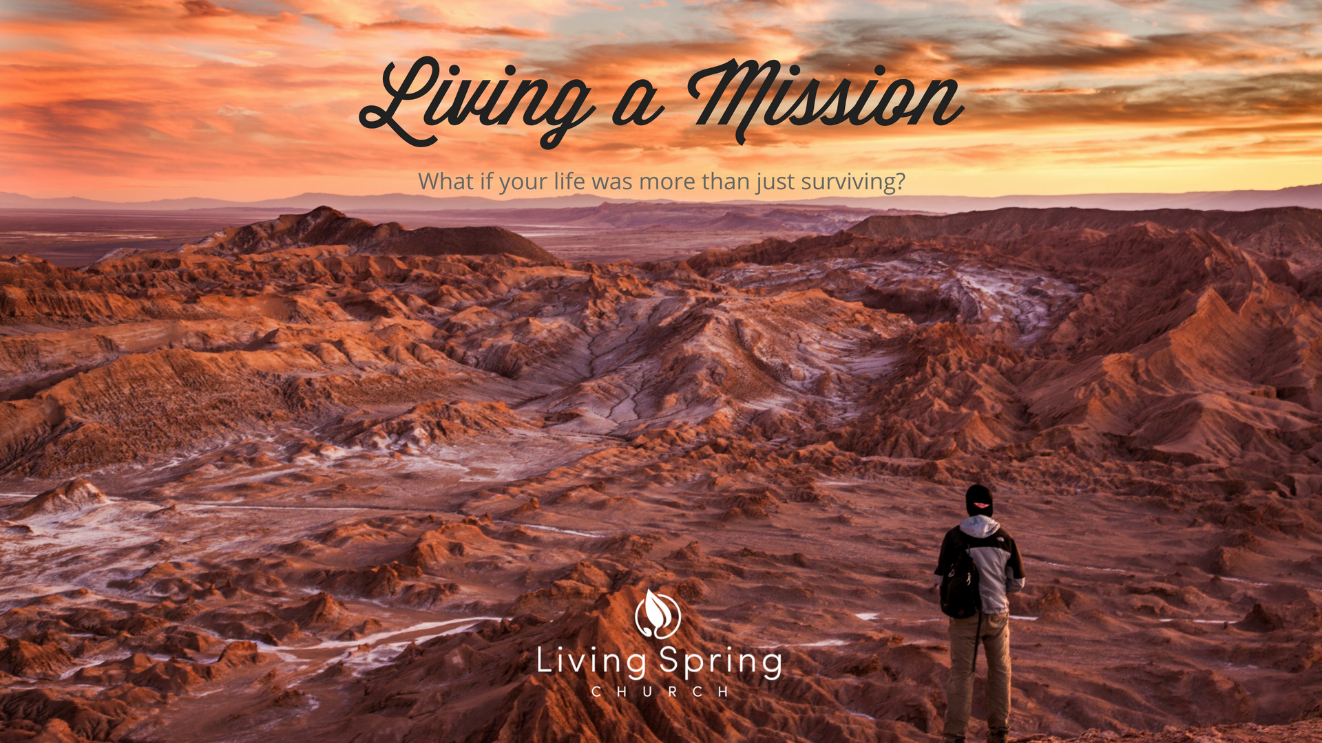 Living A Mission