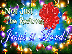 Not Just The Reason...Jesus is Lord!