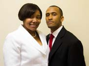 Photo of Deacon Corey & Mrs. LaTasha