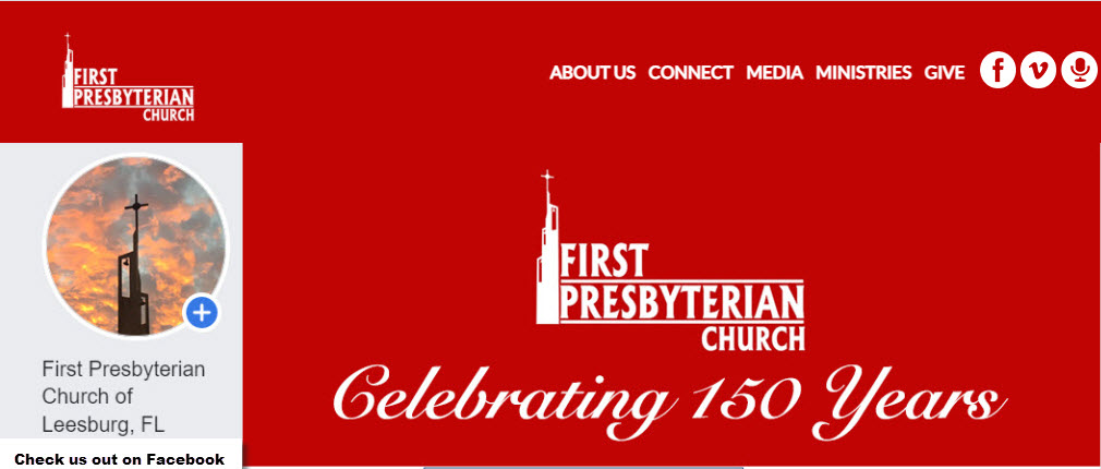 First Presbyterian Church of Leesburg Facebook Pag